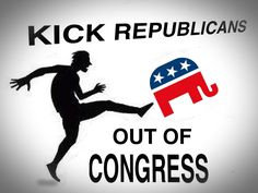 We need to kick the obstructions to a brighter future out of the way. Nov 4th 2014 is fast approaching - VOTE BLUE.