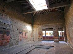 Foto: Villa of the Mysteries, Pompeii - atrium.