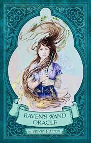 Raven's Wand Oracle - New Moon Cottage Pagan Witchcraft, Wiccan Witch, Magick, The Golden Compass, Rider Waite Tarot, Raven Art, Free Tarot, Celtic Tree, Tarot Card Decks