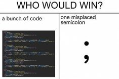 Post with 26689 votes and 704834 views. Tagged with funny, memes, dump, dank memes, Shared by Hump day meme dump day - Mohstly fresh Memes Humor, Bad Memes, Funny Memes, Tech Humor, Hump Day Meme, Programming Humor, Bad Feeling, Computer Science, Computer Jokes
