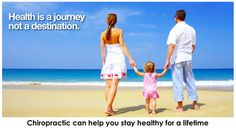 Chiropractic Poster - Health is a journey