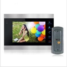 Homefong Comprar Que el Monitor Timbre de 7 Pulgadas a Color LCD de Video Teléfono de La Puerta Sistema de Liberación de La Puerta de Intercomunicación Timbre Cámara de Desbloqueo Envío