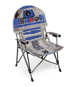 Star Wars R2-D2 Folding Armchair - this is what I should get for work so I can eat outside. Lol.
