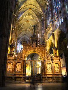 León Cathedral - Santa María de León Cathedral.