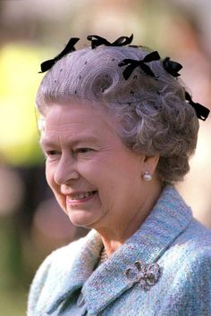 May 1996 The Queen at Chelsea Flower Show