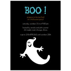 Free Halloween Party Invitation Printables , Ghost Madness, Free Halloween Invitation Template