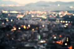 City lights. by EkaterinaPlanina on @creativemarket