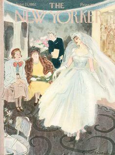 Garrett Price  : Cover art for The New Yorker 1427 - 21 June 1952