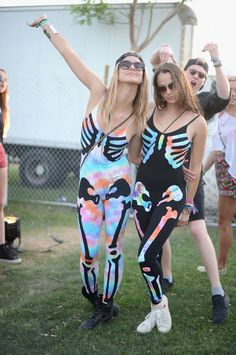 Outrageous Music Festival Outfits - Music Festival Street Style - Cosmopolitan