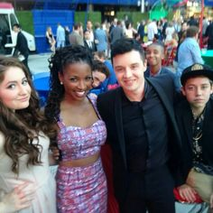 Some of the Shameless cast - Debbie, Veronica, Mickey, Carl