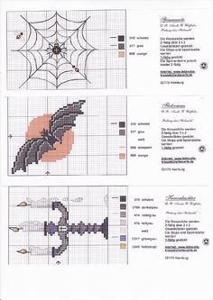 Misc halloween patterns