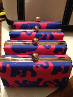 Lilly Pulitzer TUSK in SUN Hard Shell Clutch by PreppyPinkShop. , via Etsy.