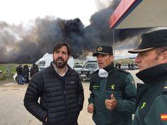 """Guillermo Gross, regidor de C´s ha asegurado que """"necesitamos soluciones urgentes para el vertedero ilegal, un problema que no acaba aquí""""."""