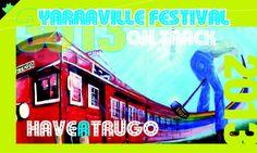 Yarraville festival On Track