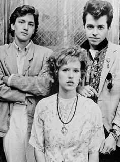 Pretty in Pink - love the sound track to this movie!