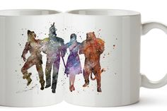 Wizard of Oz - Watercolor Coffee Mug, Kids Mug