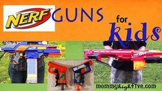 Looking for a good nerf gun for your young child or toddler? Here are 12