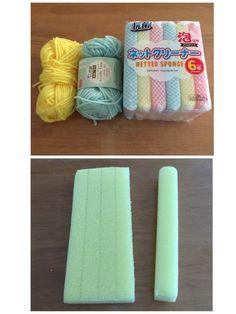 蛇口まわりの水あか防止カバー 第2弾|LIMIA (リミア) Diy And Crafts, Knit Crochet, Crochet Patterns, Towel, Knitting, Zoro, Diy Kid Jewelry, Tricot, Crochet Pattern