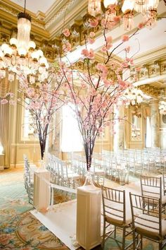Cherry blossoms are incredibly beautiful and I love, love them! And cherries themselves are very tasty, so why not choose cherries as a wedding theme?