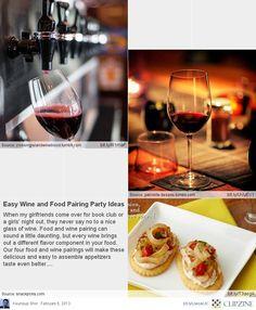 Wine and Food Pairings