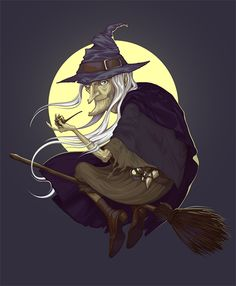 Halloween series of illustrations  by Diana Dementeva and Imago Creata on Behance