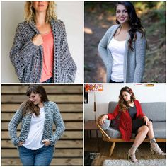 I have rounded up some of the adorable and stunning free crochet cardigan patterns for your inspiration. All of these crochet cardigan patterns are easy, fascinating, gorgeous and adorable for women of all ages.