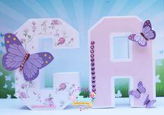3d Letters, Ideas Para Fiestas, 3d Paper, Scrap, Butterfly, Lettering, Frame, Silhouette, Box