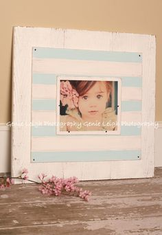 Cute Coastal Cottage Frame