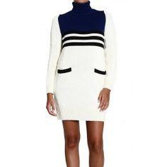 MOSCHINO TURTLENECK BICOLOR BEND Price: $342.98 Shop @ Giglio.com