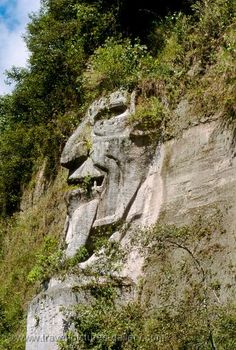 Ecuador - la Cara del Diablo, the Devil's Face