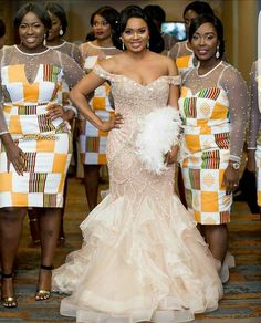 Look Stunning, Slinky & Hot With The Latest Kente Styles