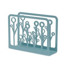 Napkin Holder Buds Light Blue now featured on Fab.