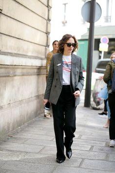 Street Style Paris - Verao 2017 Outubro 2016 Olivier Degoulange / FOTOSITE