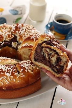 [New] The 10 Best Recipes Today (with Pictures) Nutella, Sweet Recipes, Cake Recipes, Dessert Recipes, Dinner Recipes, Just Desserts, Delicious Desserts, Yummy Food, Sweet Pastries