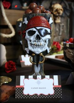 Ahoy Mate! Pirate Themed Dessert Table Birthday Party