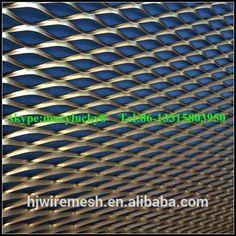 external expanded metal facade cladding