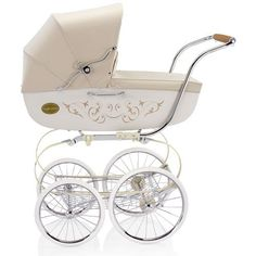 Inglesina Classica Pram in Vanilla. if someone told me they would give me one of this if i had another baby, i would totally do it!! this is a beauty!