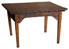 Early 1800's Butcher's Table