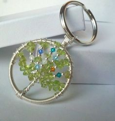 Custom Family Tree Keychain by CountrifiedPride on Etsy, $38.00 Orders before Dec 14th guarnteed for Christmas!
