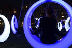 lighted swings for adults boston