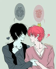 Marshall Lee x Prince Gumball - Adventure Time