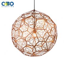 Modern Stainless Steel Ball Pendant Lamp Foyer/Home/Room/Loft/Bar/Hall Indoor Lighting E27 110-240V Free Shipping