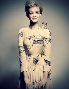 Carey Mulligan - she has all sorts of loveliness going on.