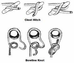 "nautical knots ""Marine Knots Secrets - Seven Sailing Knots You Need to Know!"""