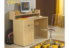 S Cool Desk and Desktop Hutch