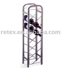1000 ideas about wine racks on pinterest wine cellars wood wine racks and wall mounted wine - Tall corner wine rack ...