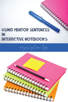Do you use mentor sentences with interactive notebooks? Try these tips to brighten grammar lessons and encourage student choice. Education Apps For Students, Education Jobs, Physical Education, English Classroom, Art Classroom, Diy Educational Toys For Toddlers, Middle School Grammar, Education Clipart, Mentor Sentences
