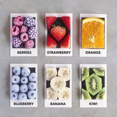 Which Fruit would you pick? 😌🍓🥝💘 Frozen Raspberries & Blackberries, Strawberries, Orange, Frozen Blueberries, Banana or Kiwi slices? Blackberry, Raspberry, Strawberry, Easy Healthy Dinners, Easy Healthy Recipes, Frozen Blueberries, Paint Chips, Aesthetic Food, One And Other