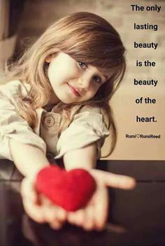The only lasting beauty is the beauty of the heart. - Rumi persian poet and mystic Beautiful Little Girls, Cute Little Baby, Baby Kind, Beautiful Children, Beautiful Babies, Cute Girls, Cute Babies, Cute Baby Girl Pictures, Baby Girl Images