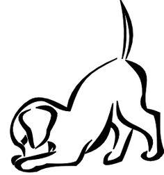 simple dog tattoo google search tattoo pinterest tattoo rh pinterest com Memorial Tattoos Dog Silhouette Memorial Tattoos Dog Silhouette